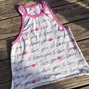 Chaser love tank top ❤️